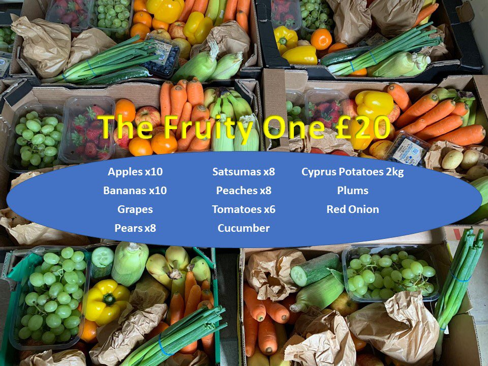 This weeks boxes are now available to order. Message for more details or to order. https://t.co/gZfGLG9Uwz      #Warrington #Northwich #fruitboxes #freshfruit #freshveg #kelsallhill #tarvin https://t.co/oyqniIxdPa