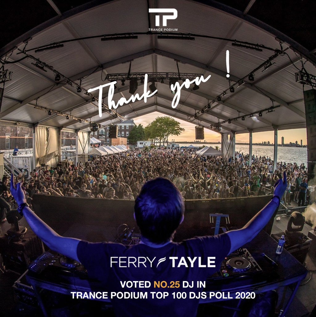 Thank you so much guys for your support these last 12 months !  No words #TrancePodium https://t.co/E0kPbG8AdQ