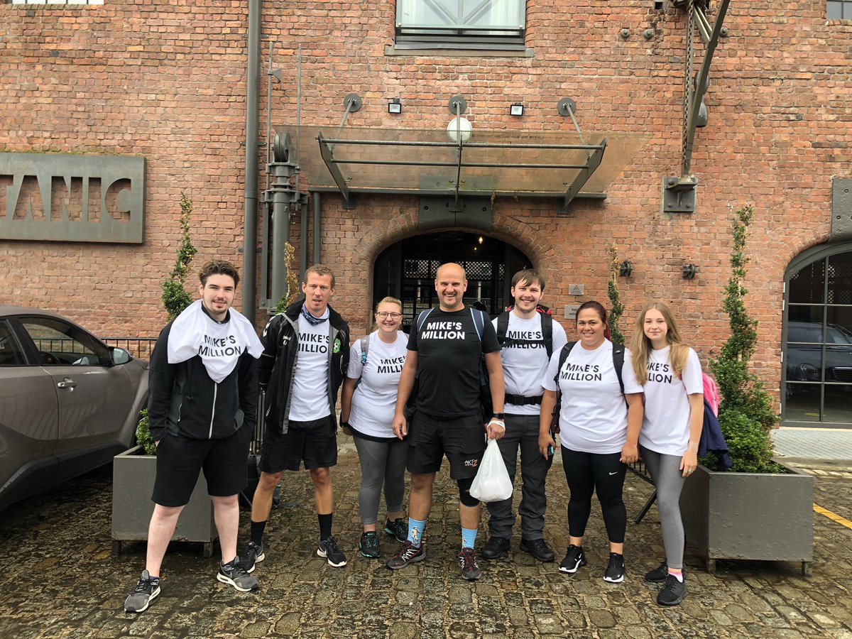 So yesterday we walked 32 miles down the canal to raise money for @ArtzCentre. Physically very tough and thank you to everyone who took part. When our minds our strong we can overcome almost any physical challenge. https://t.co/7BDMYpSDzh