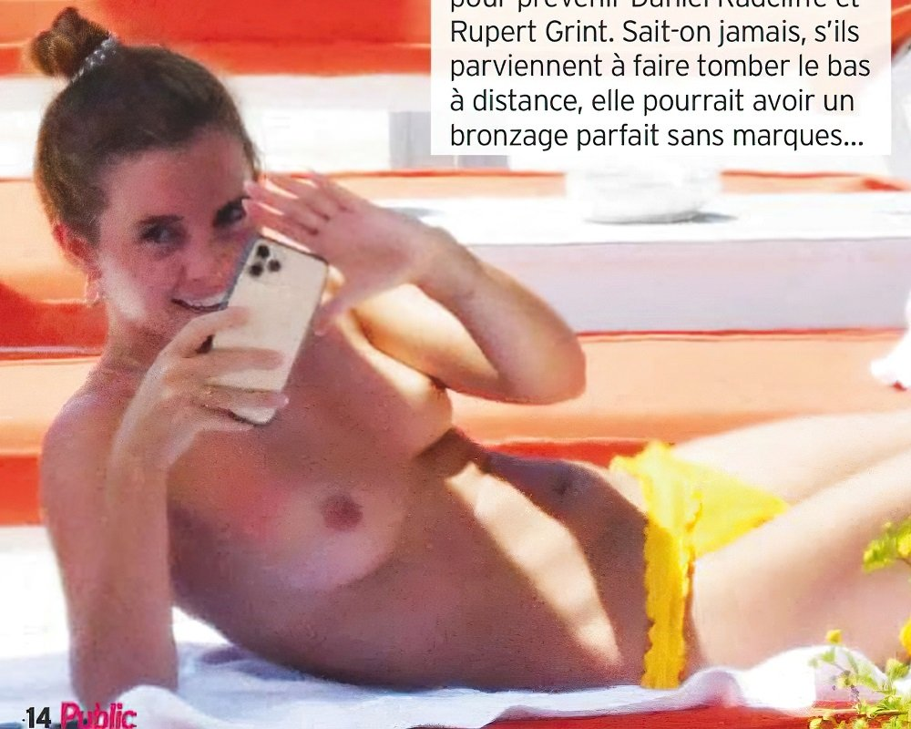 Emma Watson Topless – Hermoine from Harry Potter  Check these live sluts:    – Nude Celeb