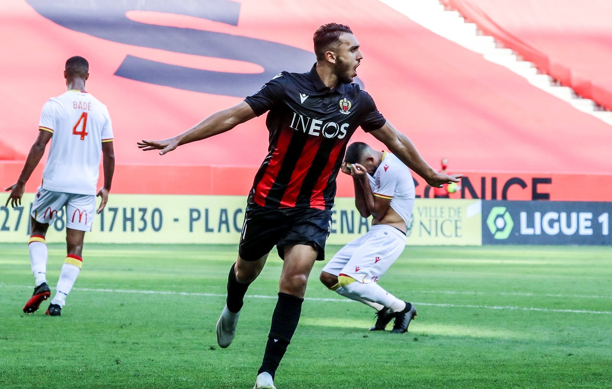 """Amine Gouiri on Twitter: """"First game and first win 💪🏼🔥 #IssaNissa 🔴⚫️  🦅… """""""