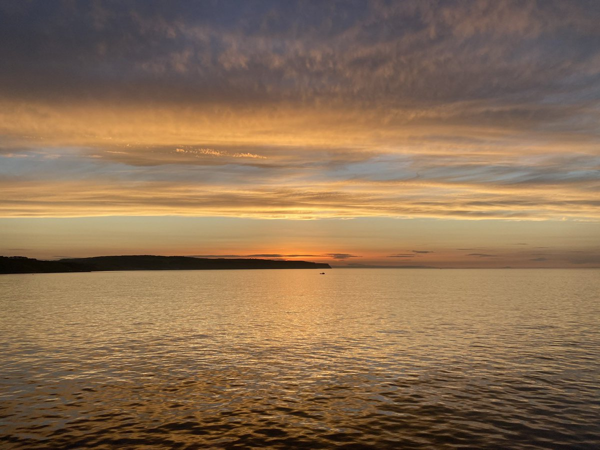 @MrWithers2020 Sunset in Whitby