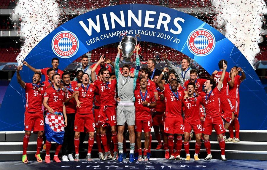 Bayern win UCL 2019/20