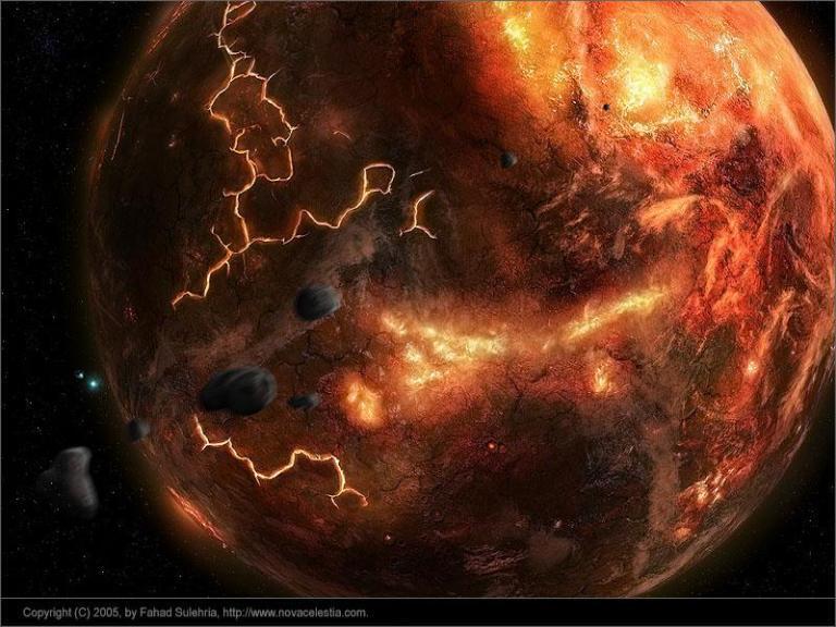 The Hadean/Hellish Earth by...