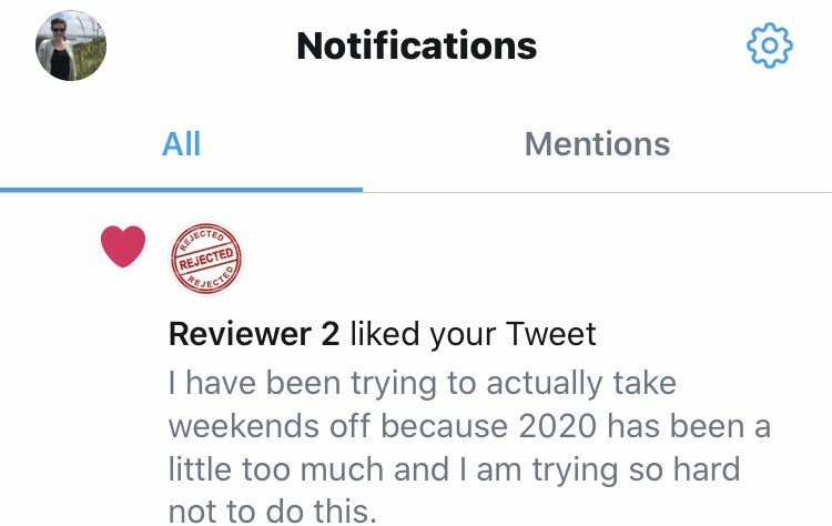 First time Reviewer 2 has ever liked anything I've written 😉@GrumpyReviewer2