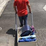 小4の夏休みの自由研究!大量の荷物を一気に運べる人力車?