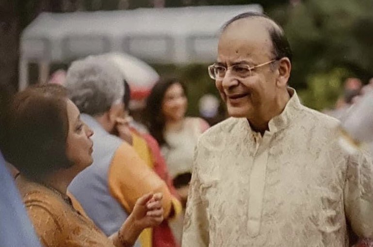 Dear @arunjaitley, you were one of my first friends, as a young reporter to Delhi in the late '80s. We sparred often on politics yet we had a lasting & warm friendship till the end.Admired & applauded your rise in national life & miss your wise counsel in these troubled times! 🙏 https://t.co/IS4e7EsaMd