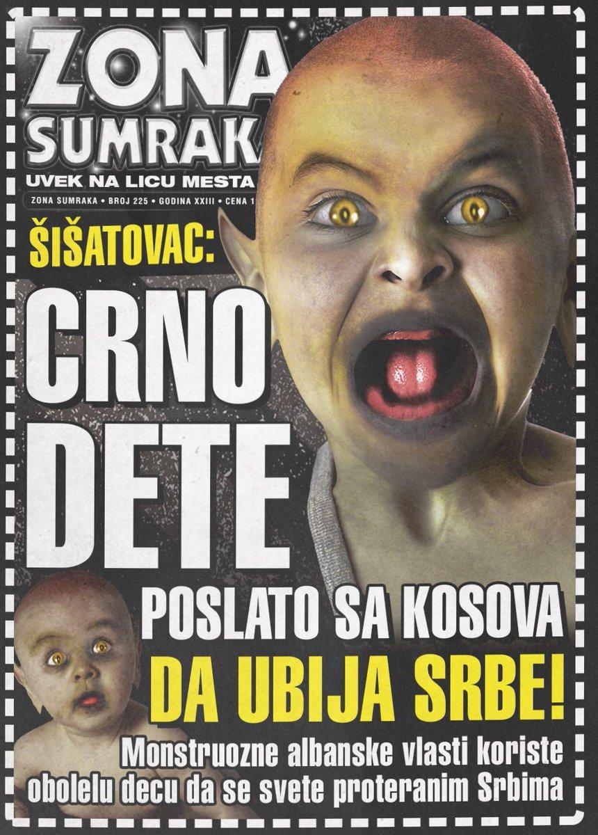 ŠIŠATOVAC: Crno dete poslato sa Kosova da ubija Srbe!