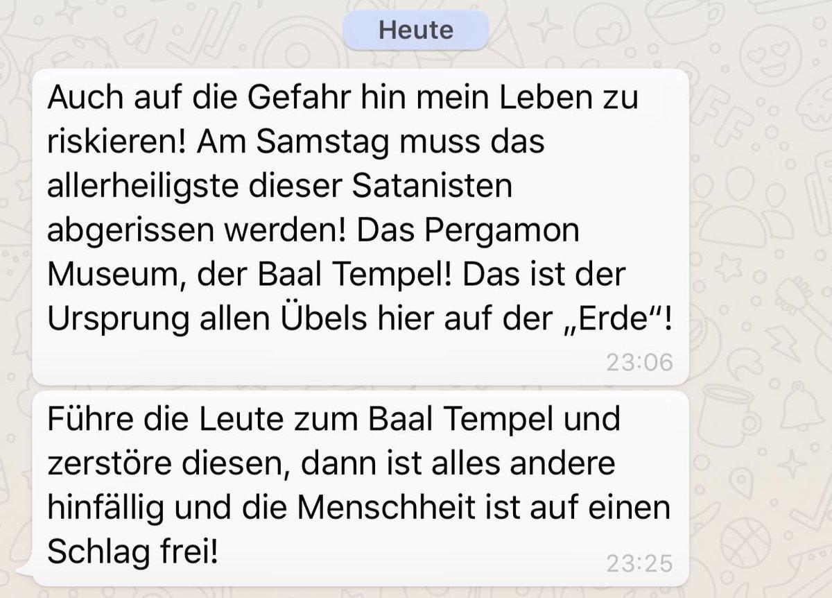 Hasshilft On Twitter Neuer Plan Fur Revolution Am 29 08 Sturm Auf Den Reichstag Entfallt Dafur Soll Das Pergamon Museum Zerstort Werden B2908 Https T Co 75b9ae7g4v