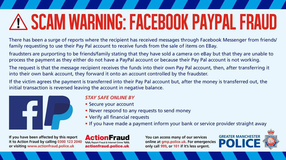 Greater Manchester Police On Twitter Scamalert Nationally 95 People Have Reported Losing Over 44 000 To This Scam Please Share This Message To Help Others Falling Victim For This Online Scam For