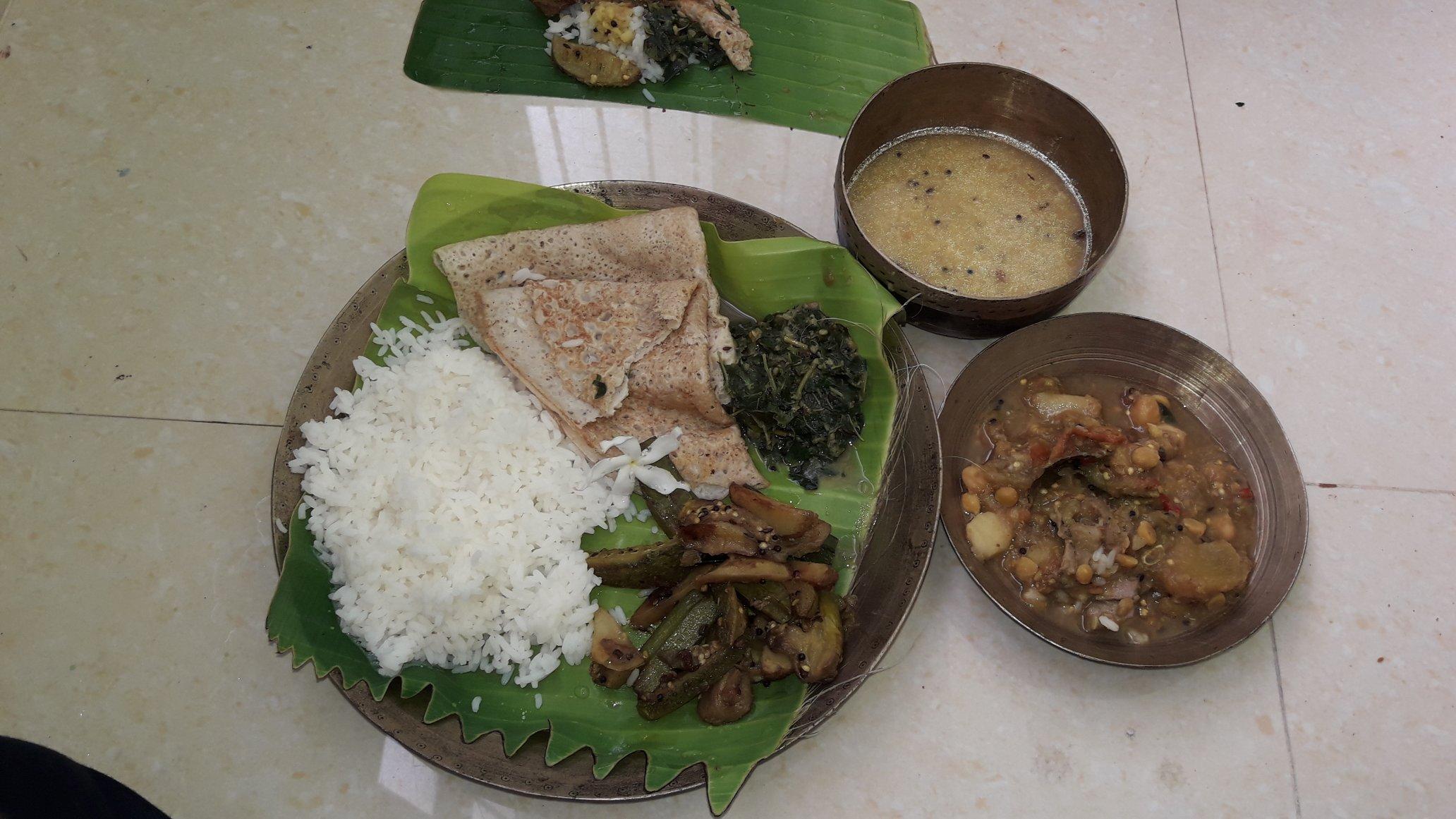 Bhoga for Sathi Osha