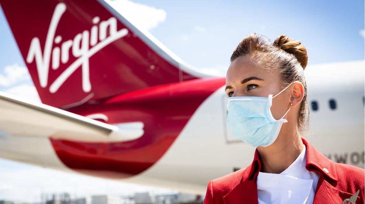 We could all use some extra peace of mind right now. So we areadding free of charge Virgin Atlantic Covid-19 Cover to every existing booking, as well as new bookings made for travel up until March 31st 2021. See Terms and Conditions and full detail here: https://t.co/zhFpy4Gw7s https://t.co/IVYKwyGs6q