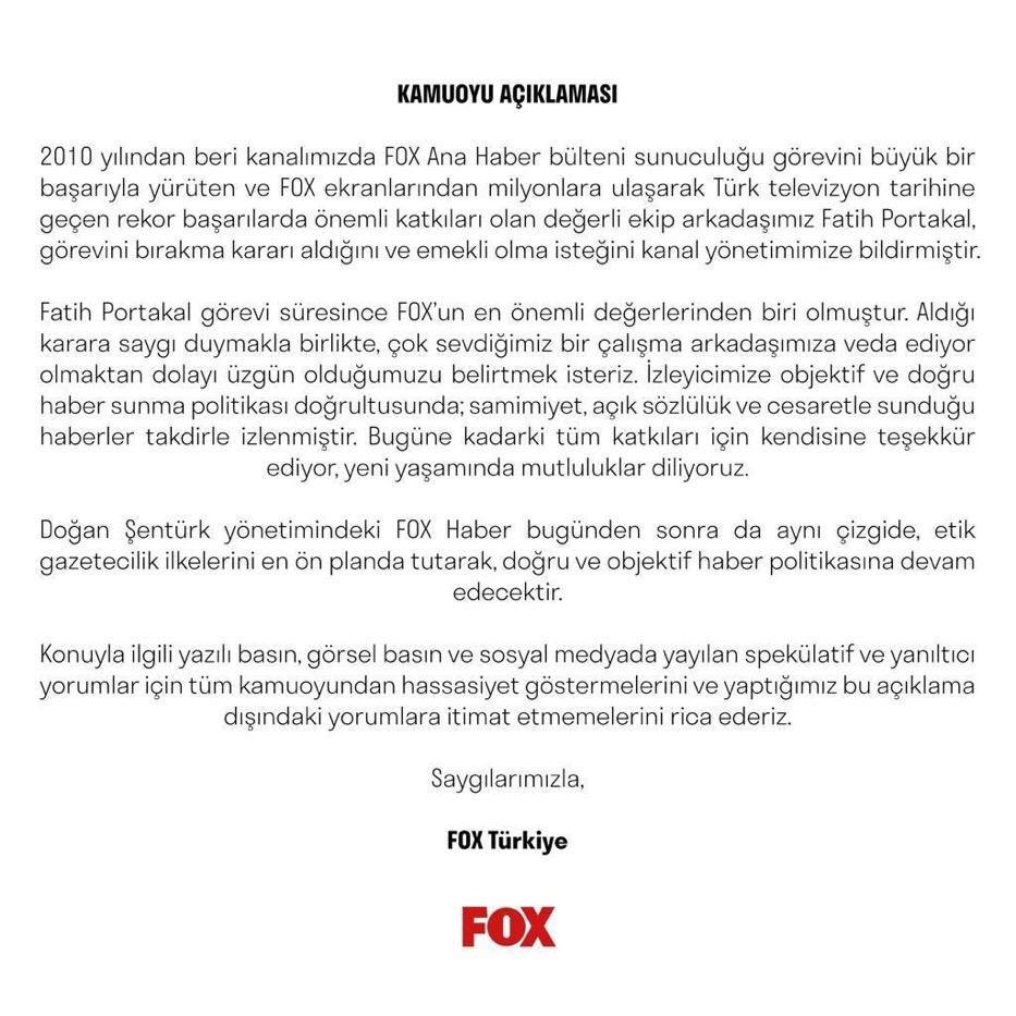 Fatih Portakal seni #YalanTerörü'ne verdiğin destekle hatırlayacağız... https://t.co/T50tkeHASy https://t.co/3aFiP6X9WD