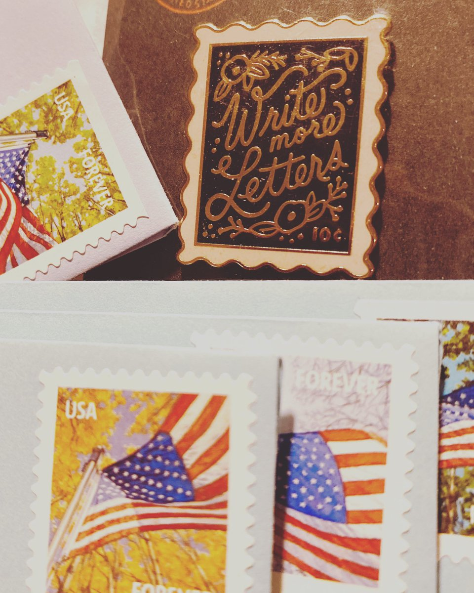 Just some things I like to do.🖋✉️📮😁#writemoreletters #penpals #usps #postmaster #postagestamp #oldschool #snailmail #iloveletters #longdistance #timelesslove #thewrittenword #m_e2020 #qthazeleyes #qthazeleyes2020 #quarantine #coronavirus #covid19 #writesomeletters #youhavetime https://t.co/bNOztRdt98