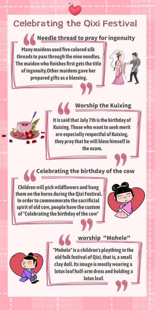 Ways to celebrate Qixi Festival.#qixi #ValentinesDay #ningxia https://t.co/02qJsoKVh7