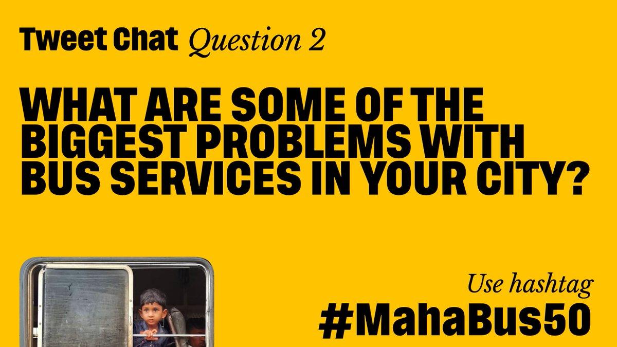 #MahaBus50