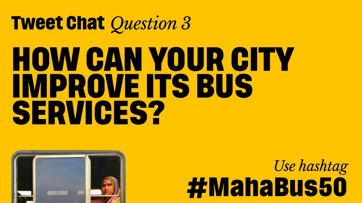 For #Nagpur- 1. #Bussystem would work best with #nagpurmetro serving as #feedersystem and #areas #inaccessible by metro 2. It's time for city to #introduce #upgraded #ecofriendly #bus 3. Provision of an #onlineapp will #improve #ridership #MahaBus50 @parisarpune @nitin_gadkari