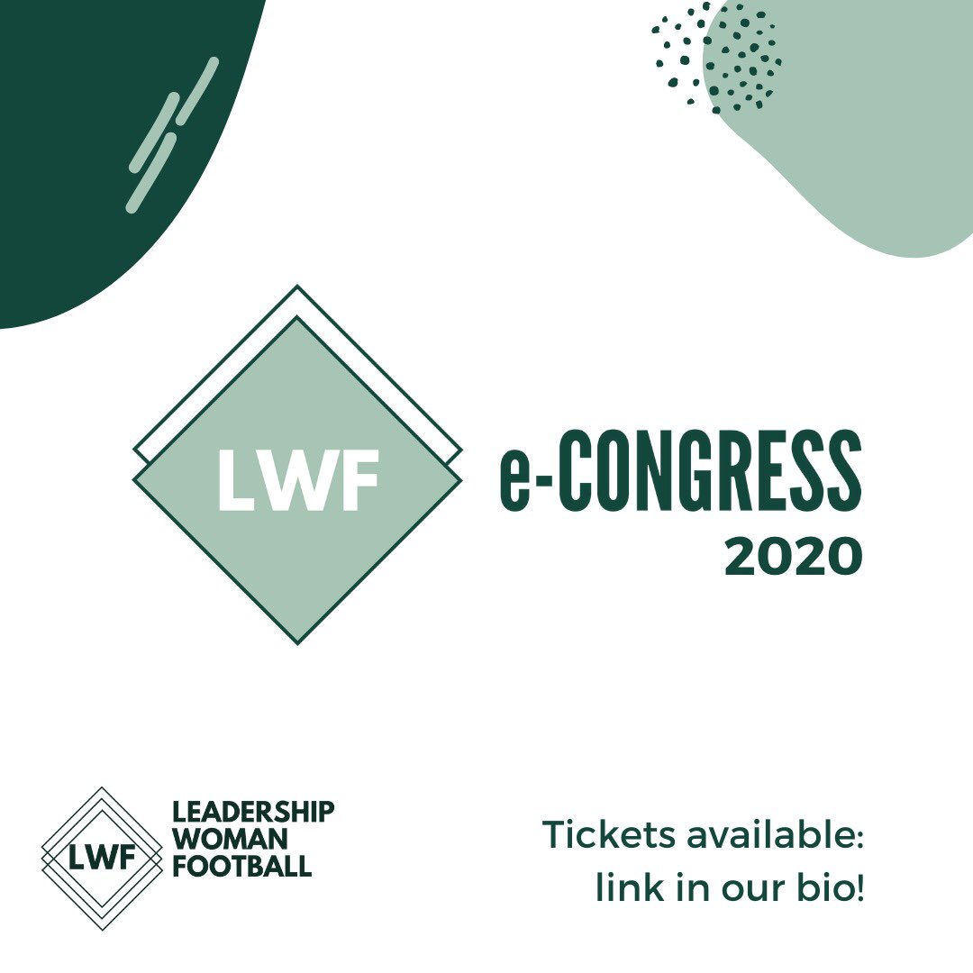 The @LWFcongress 2020 is now the online version on the same date, october 15 & 16, due to COVID19. In this time of crisis, we believe it's important to hold the event and talk about something other than coronavirus, like gender equality issues. Tickets 👉 https://t.co/YnhRwuOGbK https://t.co/6DoiAQcuYK