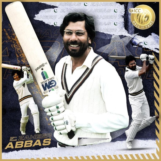 🎖 Congratulations to the Pride of Pakistan & Asian Bradman #ZaheerAbbas to get the honour of induction in #ICCHallOfFame Class of 2020!  A True #ShaanePakistan 🇵🇰 https://t.co/hI3O4CD2me