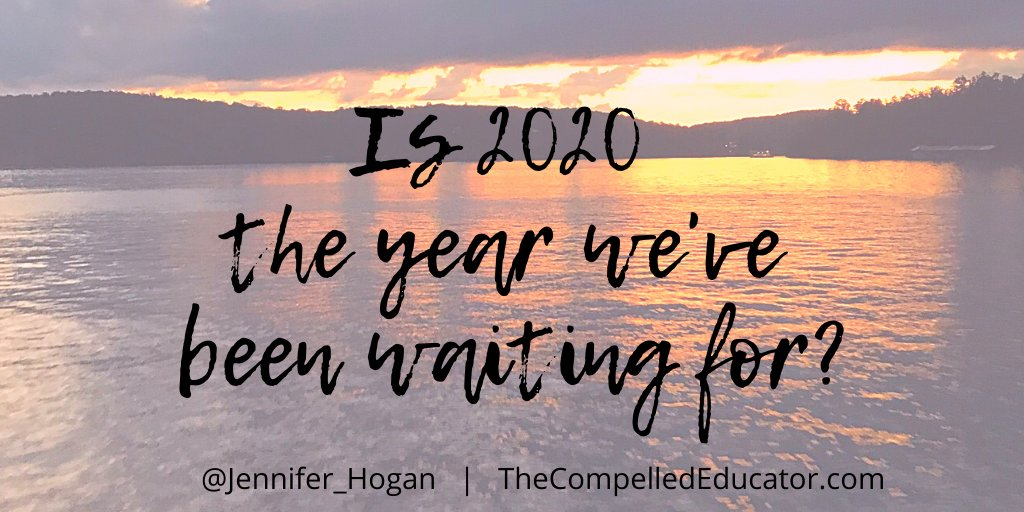 Thank you @AliBrown & Dafina Smith for reframing how we think about 2020! ✨ thecompellededucator.com/2020/08/is-202… #leadership