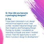 Image for the Tweet beginning: Meet product designer Eva Hrychova