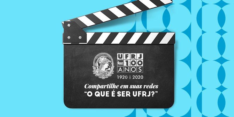 """Qual sua história com a UFRJ?  Poste um vídeo de até 15 segundos, em formato horizontal, ou uma foto, contando sobre """"O que é ser UFRJ?"""". Use as hashtags #UFRJFaz100anos e #SerUFRJ.  Vem novidade por aí!  #NossaHistóriaSeuFuturo https://t.co/ghkaSoIVYy"""