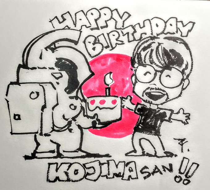 A very Happy Birthday to you Kojima san!