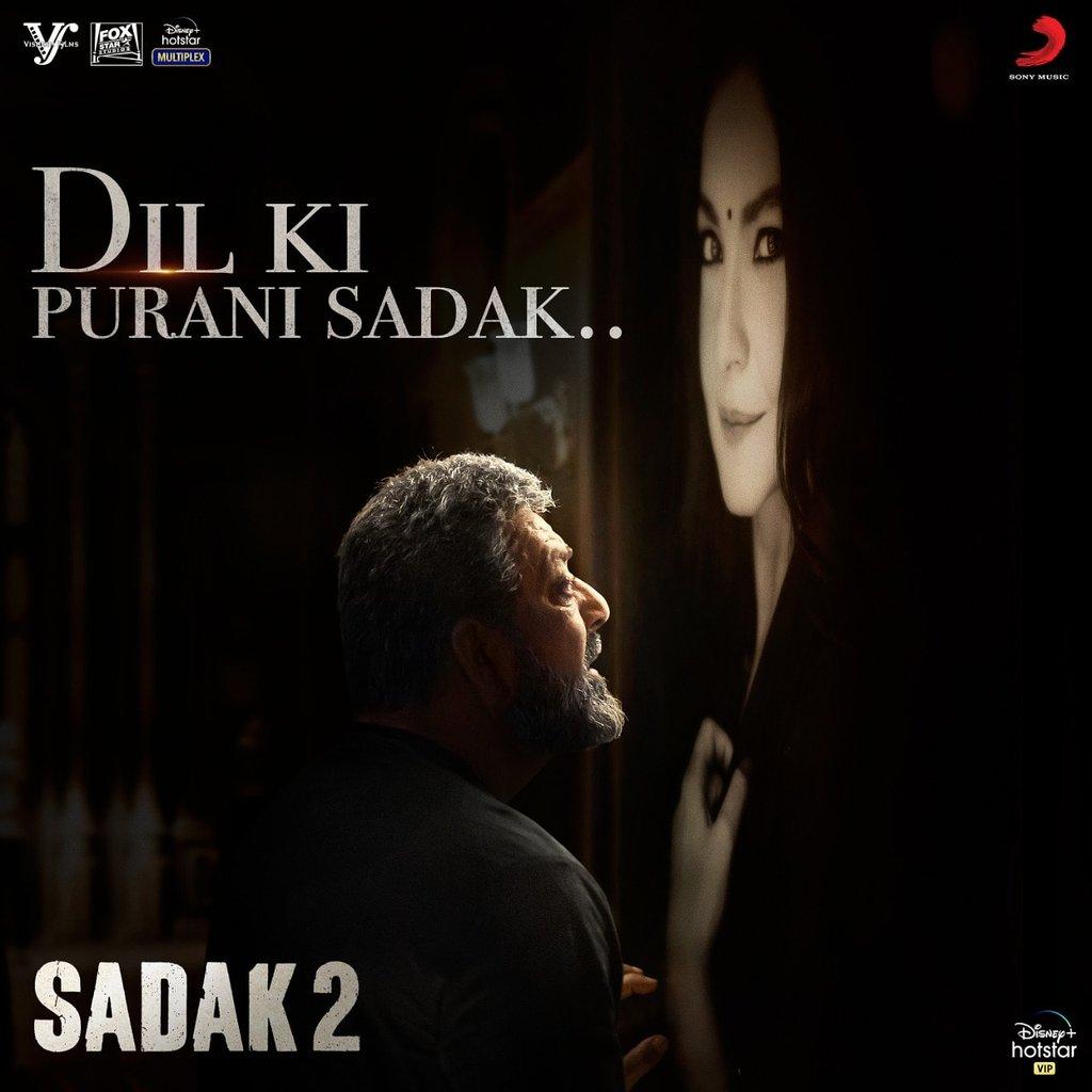 Here's another beautiful melody #DilkiPuraniSadak from Sadak 2 ! @foxstarhindi @DisneyplusHSVIP @VisheshFilms @sonymusicindia @VijayVijawatt  @k_k_pal @samidh_mukerjee #Urvi