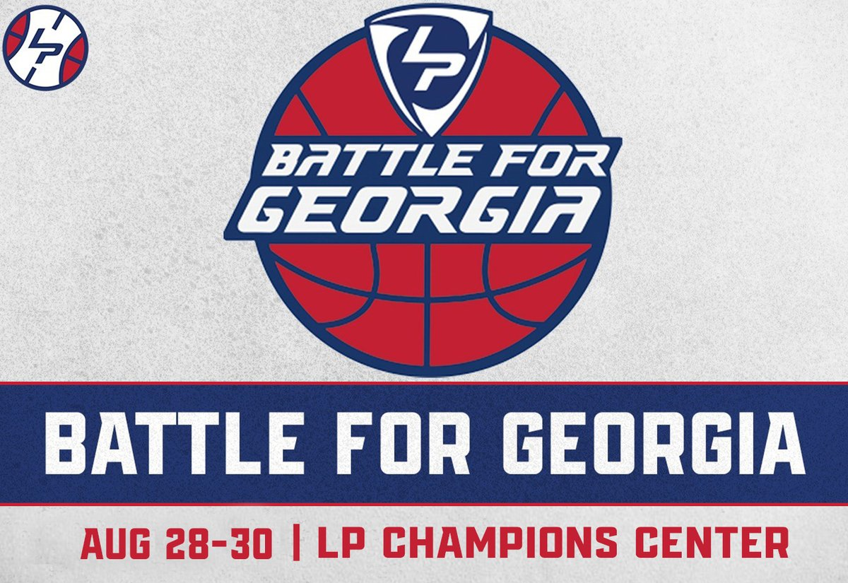 It's #BattleForGeorgia week at #LakePointHoops!   Brackets for the Qualifier on August 28-29 will be posted this afternoon. Brackets for the top teams coming on August 30th will be posted tonight starting at 7:00 PM!  We'll have some 🔥🔥🔥 match-ups, Georgia is LOADED right now! https://t.co/9zNLNMbHFB