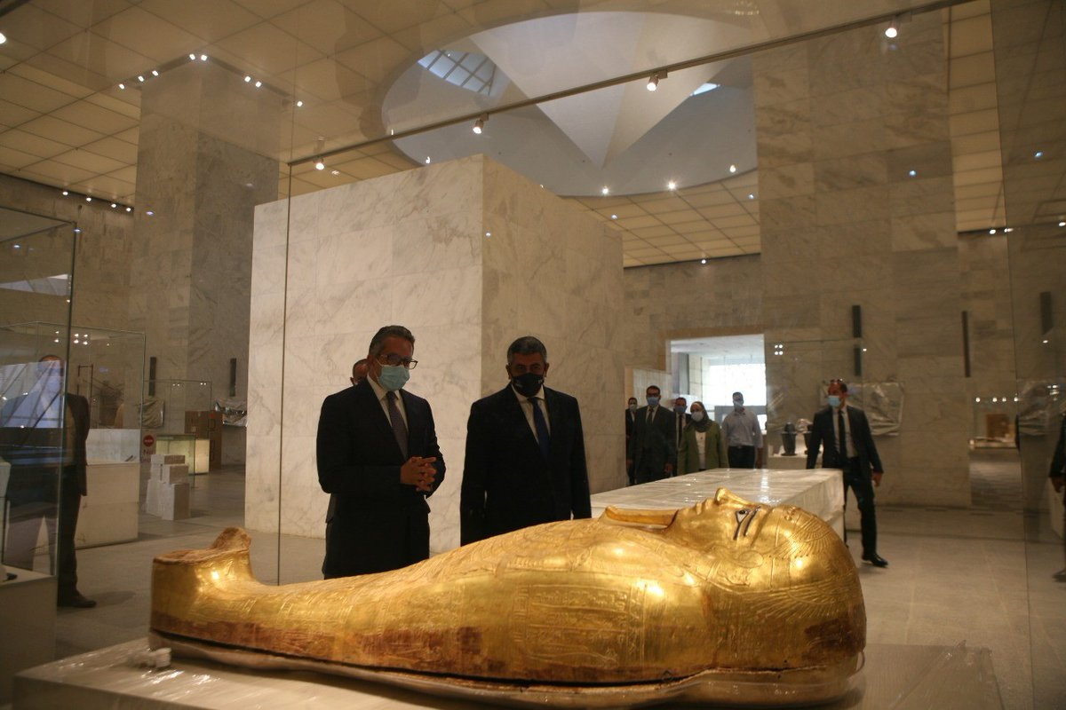 World Tourism Organization On Twitter Continuing Unwto Official Visit To Egypt Sg Pololikashvili Visited The National Museum Of Egyptian Civilization In Cairo And Held A Bilateral Meeting To Explore The Measures Taken