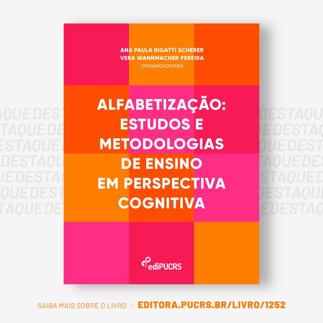 """""""Alfabetização: estudos e metodologias de ensino em perspectiva cognitiva"""" > Conheça a obra: https://t.co/9IHkzBR8ov 📚 https://t.co/veDoRcE7Nn"""
