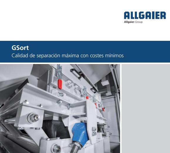 Allgaier proporciona la solución adecuada para los requisitos tecnológicos exigidos en los procesos de separación de materiales con distinta densidad, con la nueva mesa densimétrica GSort.  Descarga el catálogo en https://t.co/DToQHb7gYl  #mesadensimetrica #Allgaier #GSort https://t.co/4XBXf8BoQ8