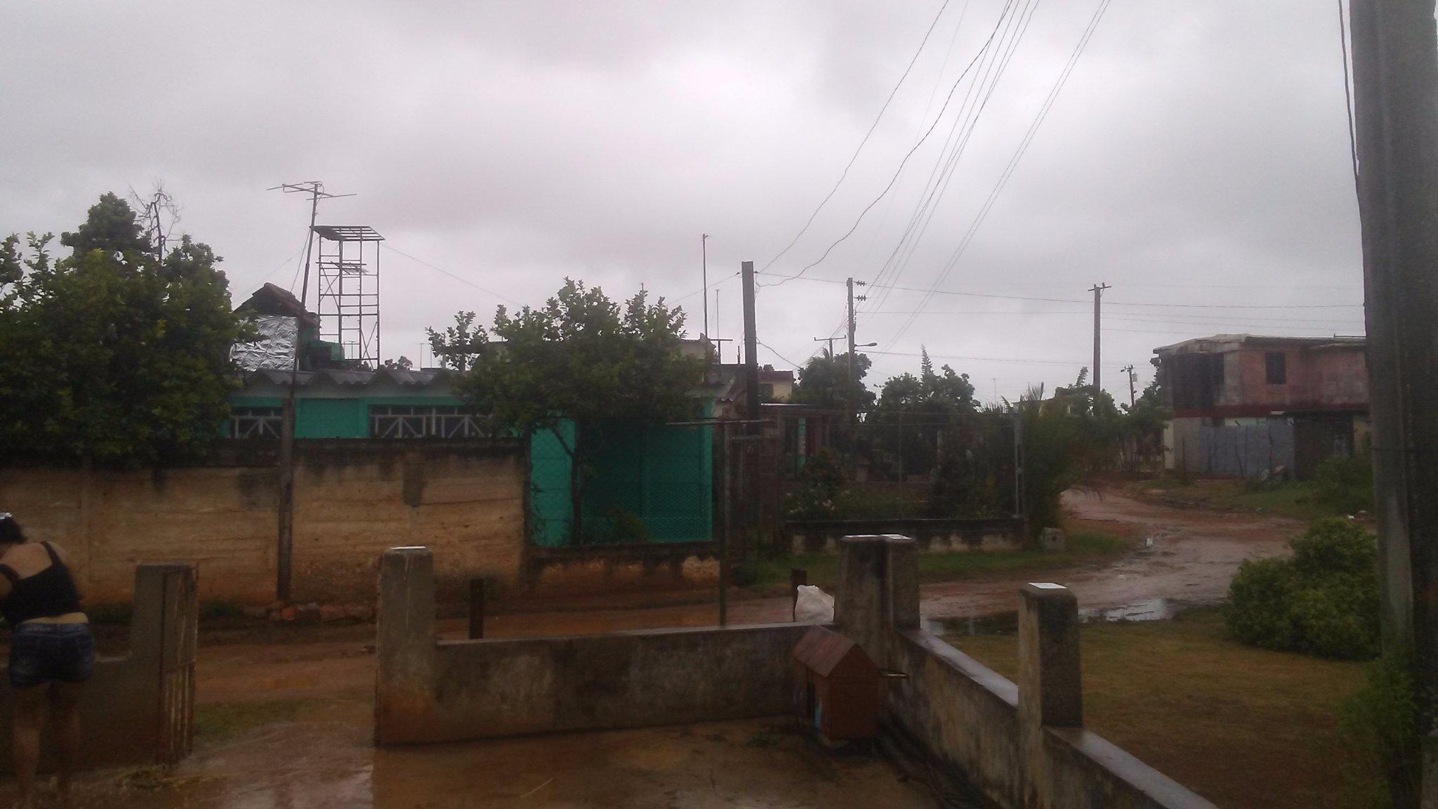Die Auswirkungen des nahenden Tropensturms in Batabanó, im Süden der Provinz Artemisa. | Bildquelle: https://twitter.com/apolo8701/status/1298010096337813505/photo/1 © Apolo26 / Twitter | Bilder sind in der Regel urheberrechtlich geschützt