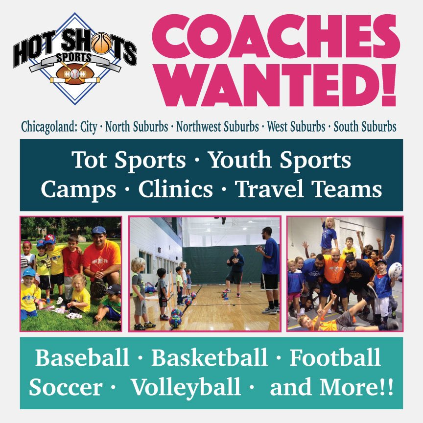 We are looking for coaches to join our team! Apply here: https://t.co/IbSPYJySu0 🏀 🏐 ⚾️ 🏈 🥎 ⚽️ https://t.co/juSQiY1HL6