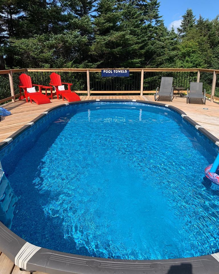 Thank you Lisa N from Conception Bay, Newfoundland! 🇨🇦  Ordered a 12 x 24 ft oval Element pool, standard equipment package, K-Star 5KW electric heater, Resin above ground deck ladder, and GLI Cyclone solar reel system. 👍 https://t.co/T7tNhNGIXr #DIYPool #DIY #PoolSuppliesCanada https://t.co/ZRfDa6imYm