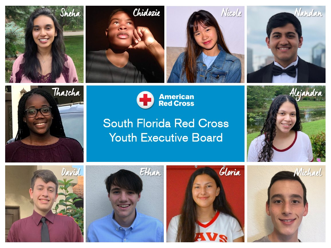 #DYK: In the South Florida Region, we have 450 youth and young adult volunteers? Meet our new 10-member Youth Executive Board and learn how they are making a difference locally ▶️  https://t.co/JILRicEhwC #YouthLeadership https://t.co/VAWkrgsGDs