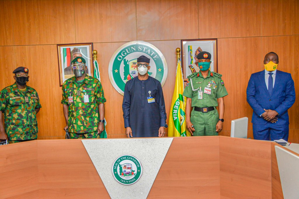 GOV. ABIODUN COMMENDS ARMY, SEEKS MORE COOPERATION