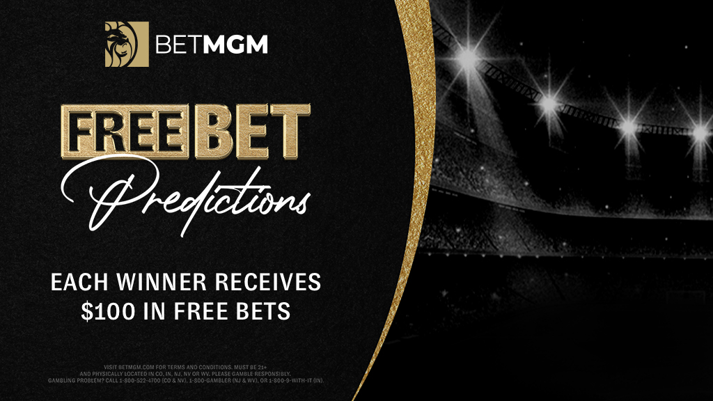 Each winner receives $100 in Free Bets!  Simply: 1️⃣ Follow @BetMGM  2️⃣ Retweet this tweet 3️⃣ Comment the amount of points LeBron James & Anthony Davis will combine to score tonight 🏀