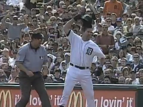 Getting thrown out at 1st base from left field. Just an all time classic tough scene. @Starting9
