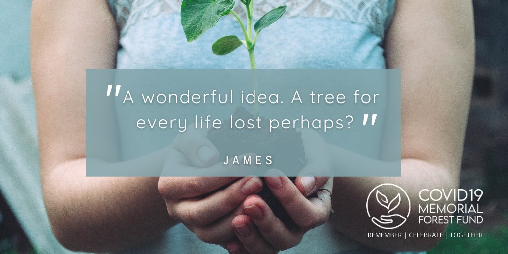 😍 What our supporters say...  Please retweet and follow our page to find out more 👍  #Covid19MemorialForestFund #Covid19Memorial #MemoryTrees #GreenRecovery #ForestOfMemories 🍂🌲 https://t.co/DuNPClegTa https://t.co/PNRhf68G4a