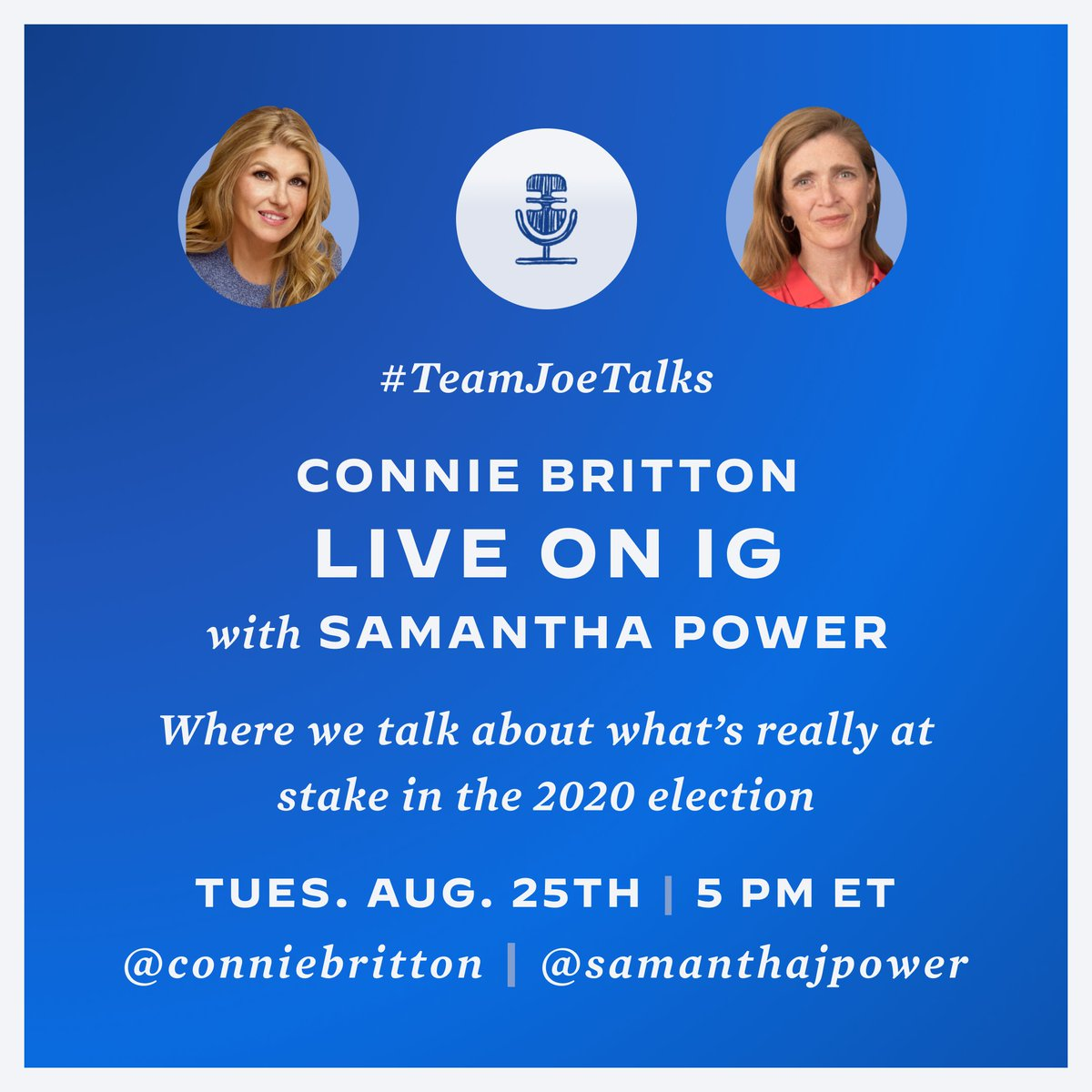 Tomorrow!! @SamanthaJPower https://t.co/U8yDoW11VN