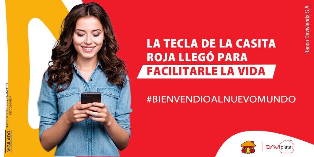 Conozca las novedades de la Tecla de la Casita Roja en #DaviPlata para administrar su dinero con un simple toque https://t.co/CNqF0CUv65 https://t.co/CUXp1posx7