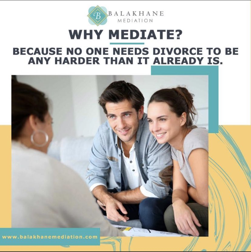 Divorce mediation is a popular process in divorce to avoid a costly and lengthy divorce trial. Since all agreements are made in mediation, spouses never have to enter a courtroom and can avoid the conflict and stress of litigation. #healthydivorce #mediation #divorcemediation https://t.co/VrNLcWUu72