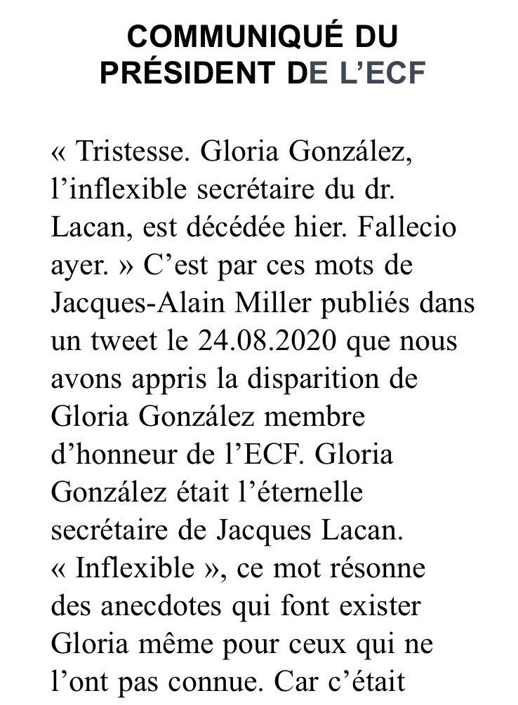 COMMUNIQUÉ DU PRÉSIDENT DE l'ECF https://t.co/lyCUMSzFw3