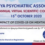 Image for the Tweet beginning: The 12th Kenya Psychiatric Association