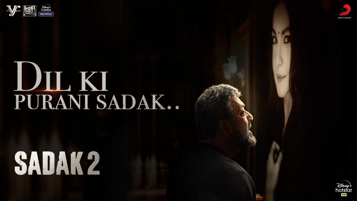 #DilkiPuraniSadak from #Sadak2 is Out Now -   Premiere From 28th August on @DisneyPlusHSVIP.   @aliaa08 #AdityaRoyKapur @duttsanjay @poojab1972 @maheshnbhatt @foxstarhindi @VisheshFilms @sonymusicindia @gulshangroverGG @mohankapur @VijayVijawatt @k_k_pal