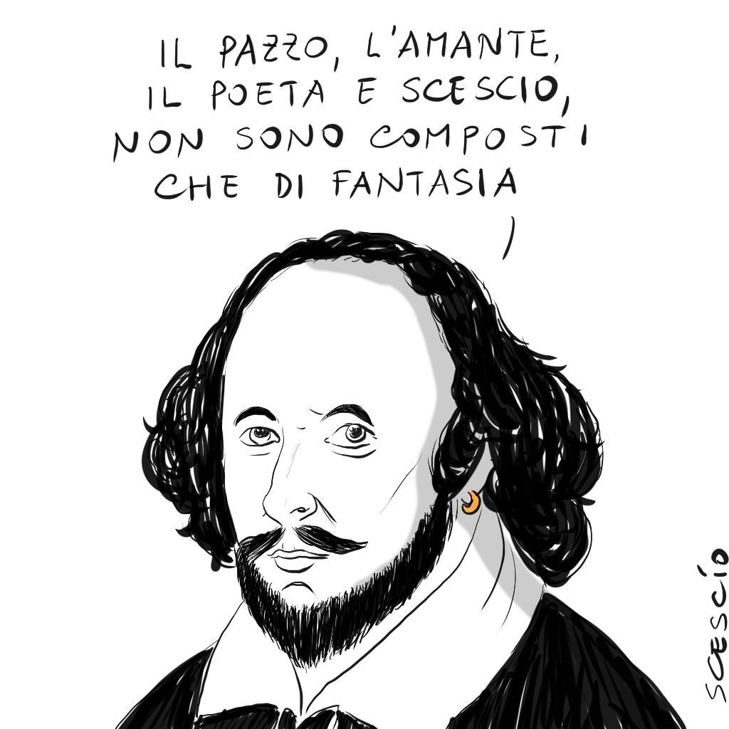 Persino il Bardo Shakespeare apprezza Scescio. Grazie William! #Shakespeare #ShakespeareSunday #poesia #CasaLettori #SeanConnery #25agosto #Scescio #rassegnastampa #primapagina #Scrivendo #leggendo #leggere #FANTASIA #amleto #sonetto https://t.co/NTcbCJr7cK