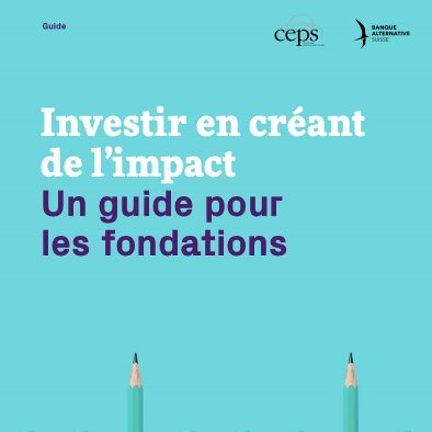 🧐 How can foundations use their assets to make the most positive impact possible?  Our member Banque Alternative Suisseand the Center for Philanthropy Studies @CEPS_Basel of the University of Basel have developed a new guide.  Have a look! 👇  https://t.co/Mzv8gX4ZzD https://t.co/esqtaaq81T