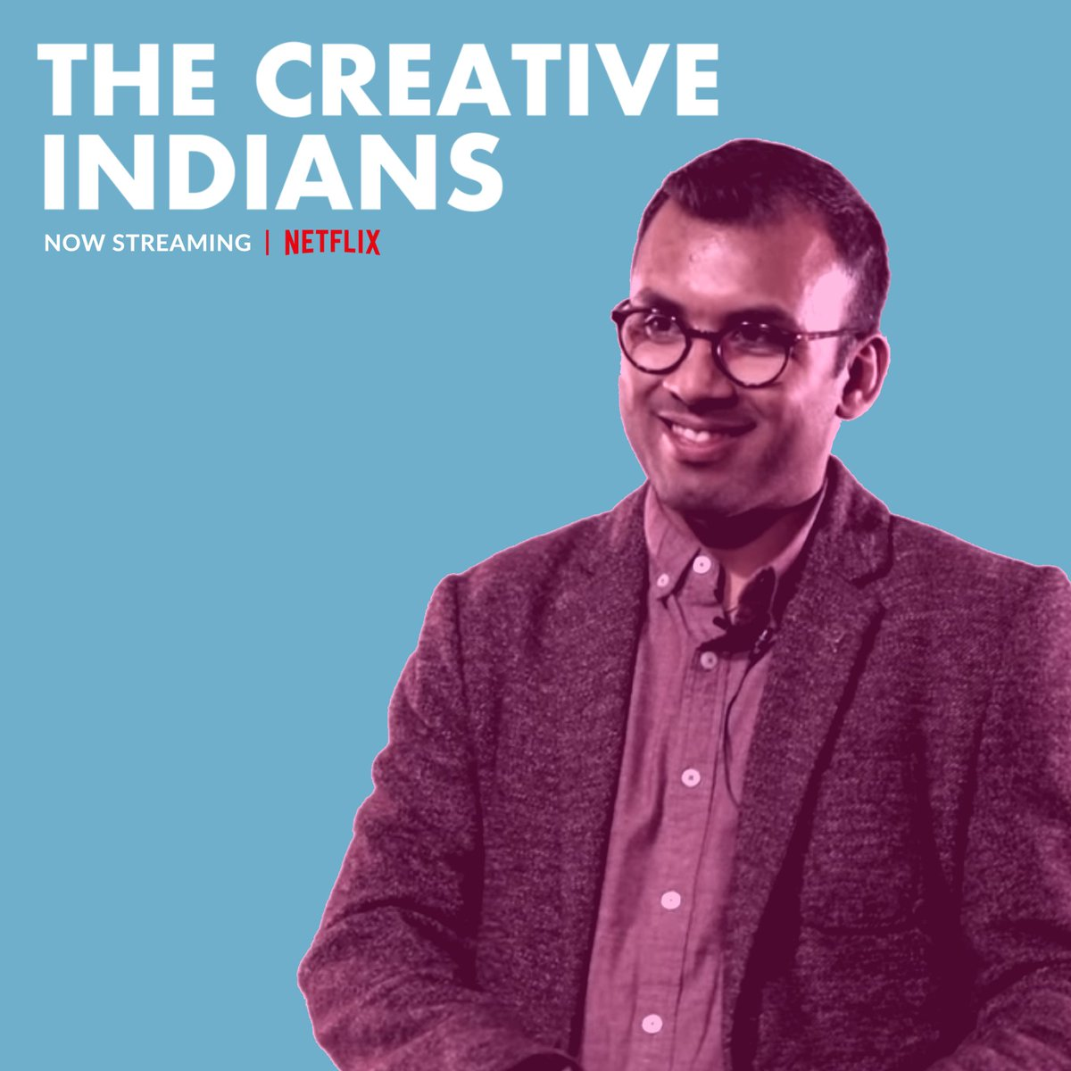I make a (very) brief cameo in the new season of #TheCreativeIndians on #Netflix! Check out the episode on #Oscar-winning #composer @arrahman, Dr. @adamjgreig and their magnificent school for #music, @KMMC_Chennai. . #streamingnow #kmmc #chennai #india #education #tech #arrahman