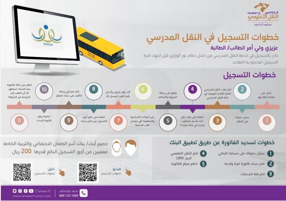 اعفاء ابناء وبنات الاسر الضمانية من رسوم النقل المدرسي EgQS3eoWoAIss2h?format=jpg&name=medium